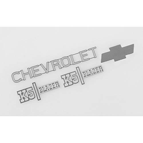 RC4WD TOY Chevrolet K5 Blazer Metal Emblem Logo Badge Set Ascender Z-S1560