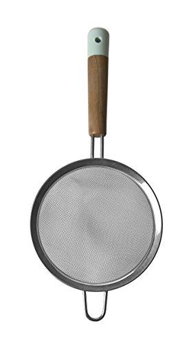 Jamie Oliver Fine Mesh Stainless Steel Kitchen Strainer Sieve for Baking