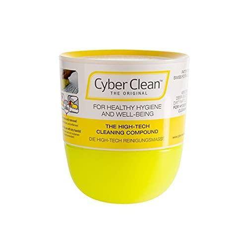 CYBER CLEAN The Original Reinigungsmasse 160g - Reinigungsgel, Tastaturreiniger, wiederverwendbare Reinigungsknete für Haushalt, Elektronik und Auto, Staubentferner