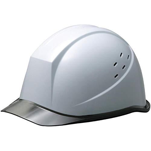 ミドリ安全 ヘルメット 作業用 PC製 クリアバイザー 通気孔付 ウインドフロー SC11PCLV RA3 UP ホワイト/スモーク