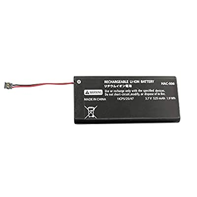 OSTENT 525mAh Rechargeable Battery Pack Replacement for Nintendo Switch Joy-Con Controller