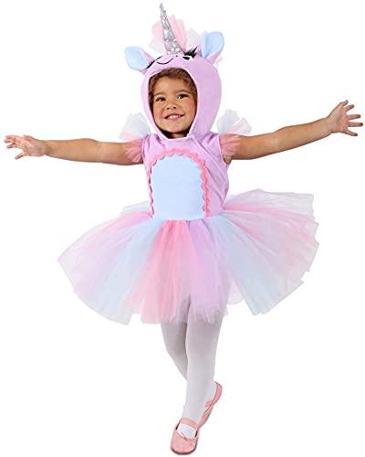 birthdayexpress kids costumes Princess Paradise Pastel Unicorn Dress Child's Costume, X-Small