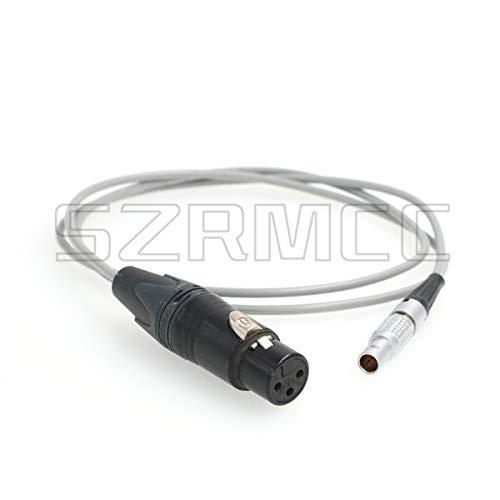 SZRMCC - Cable de audio XLR hembra de 3 pines a 0B de 6 pines para cámara Arri Alexa Mini LF