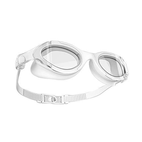 CFYP Occhialini da Nuoto Professionali, Protezione Antinebbia UV Occhiali Miopia per Adulti Uomini Donne Signore Giovani Ragazzi Ragazze Bambini età 8+