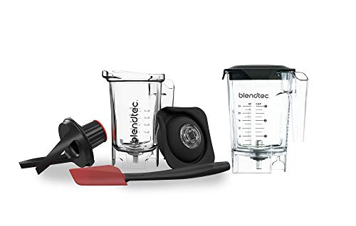 Blendtec Mini WildSide+ (46 oz) and Twister (37 oz) BUNDLE-Professional-Grade Blender Jar-BPA-free-Clear