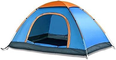 3 Kişilik Kamp Çadırı Çift Katmanlı Mevsimlik Su Geçirmez Sineklikli 200x150x110