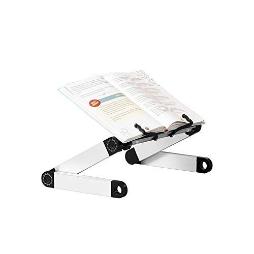 Casturu Book Stand,Standing & Holder for Reading, Perfect Ergonomic Book Holder .Hands-Free Stable Stand,Folding Reading Desk
