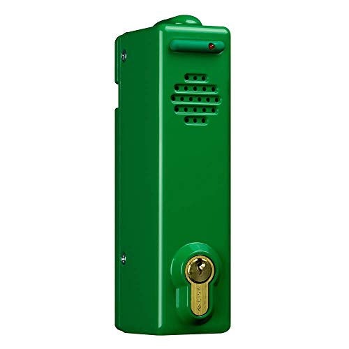 Fluchttürwächter verschieden schließend, 80 dB, grün