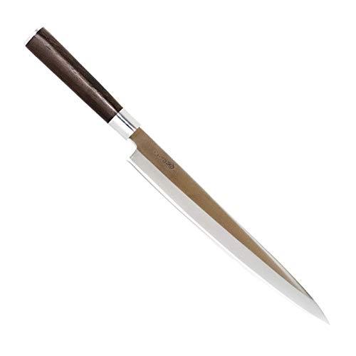 Totiko Japan Knives, professionelles Japanisches Küchenmesser - Sashimi YANAGIBA Sakai Messer mit 27 cm Klinge - 9 inch
