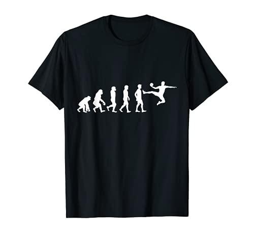 Handballer Handballspieler Evolution Handball T-Shirt