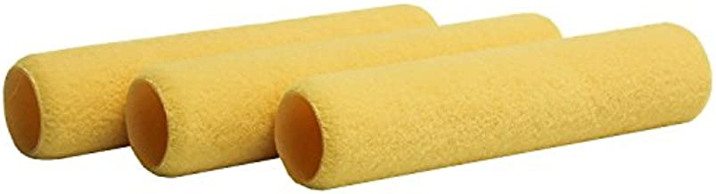 Shur-Line 2006911 9-Inch One Coat Smooth Roller Cover, 3-Pack