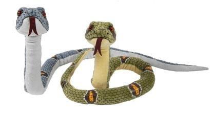 ワイルドライフアニマルズ ヘビ ぬいぐるみ 全長114cm グリーン