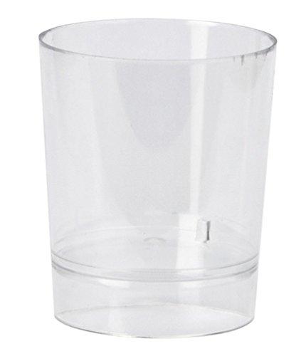 VM Vaso Chupito Plástico - Caja 1.000 unds. (Transparente)