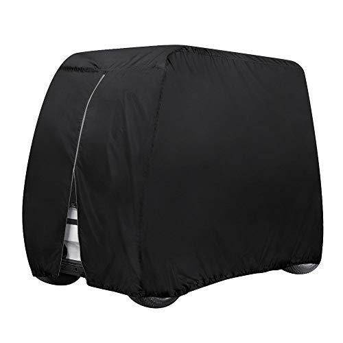 Coperchio carrello golf impermeabile, carrelli golf per esterni Coperchio protettivo tutte condizioni atmosferiche, per auto viaggio EZ GO, carrelli golf Yamaha, per turismo 4 posti antipolvere,L
