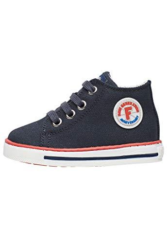 Falcotto Magic-Sneaker in Tessuto Blu 23