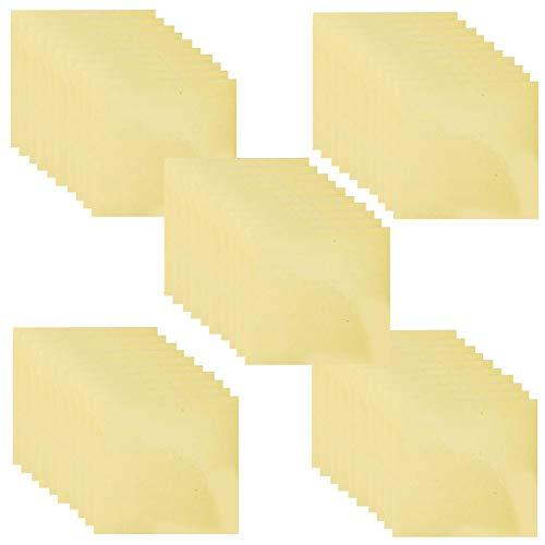 PW TOOLS Patch di Riparazione gonfiabili da 50pcs, Patch di Riparazione autoadesiva Impermeabile, Kit di Riparazione in PVC Trasparente per Tende, Tende da Sole, Piumino, Piscine gonfiabili, Kayak