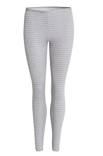 con-ta Thermo lange broek, leggings van natuurlijk katoen, lang ondergoed, warme thermische leggings, dameskleding, bordeaux geld, maat: 36