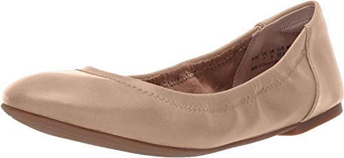 Amazon Essentials Women's Ballet Flat, Nude, 7.5 B US