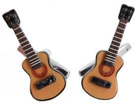 DLC Akustische Gitarre Manschettenknöpfe