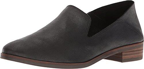 Lucky Brand Women's Loafer, Black, 9.5 Wide