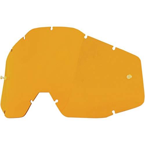 1 RACECRAFT/ACCURI/STRATA Replacement Lens Anti-Fog Accesorios Deportivos, Adulto Unisex, Naranja (Persimmon), Talla Única