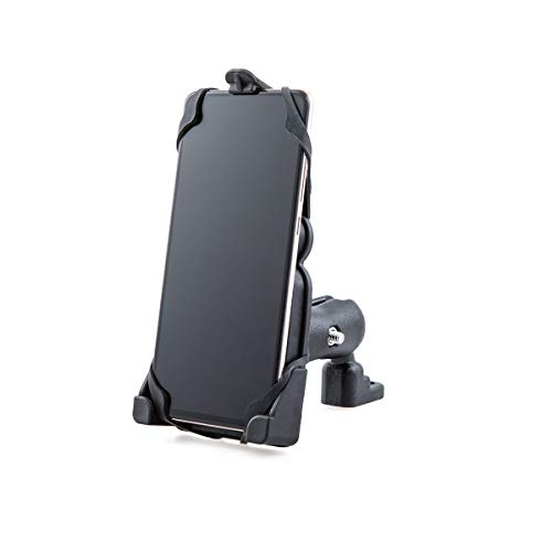 Motorrad Handyhalter, Motorräder Handyhalterung für 3,5 '' - 7,5 '' Smartphone für ATV Motorrad Scooter