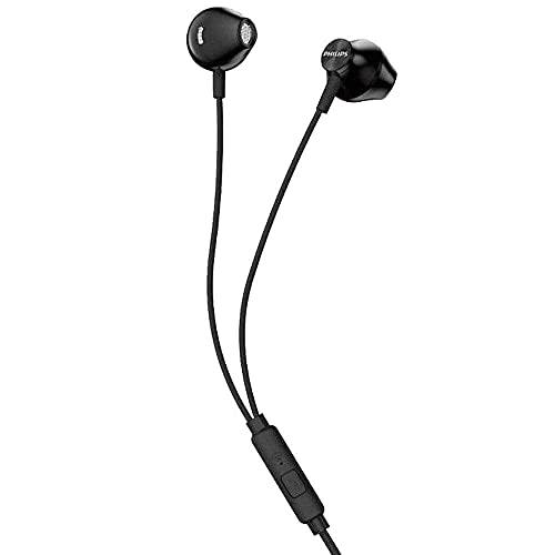 Fones de ouvido Philips com microfone - Preto