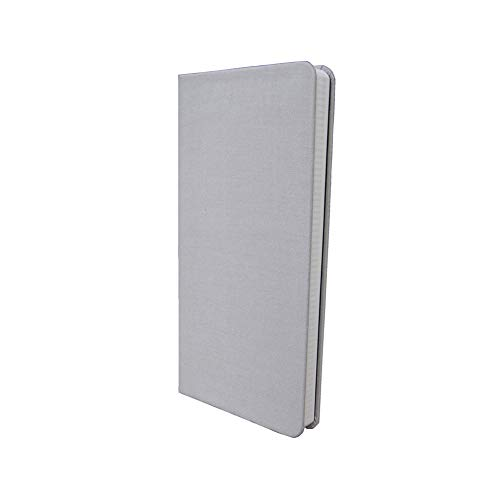 Pocket Weekly Planner Notebook Undated Weekly Monthly Planner DIY Monthly Weekly Plan Book Schedule Writing Book (A6 Gray-Cloth Cover)