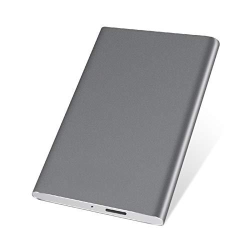 Disco duro externo HDD 1TB / 500 GB / 320GB, almacenamiento de respaldo USB 3.0 de 2.5 pulgadas Metal, adecuado para PC, escritorio, computadora portátil, Macbook, PS4, Xbox One, TV inteligente