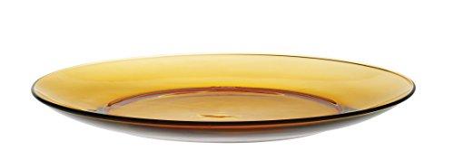 Duralex - Assiette Plate 23Cm Vermeil - Lot de 6
