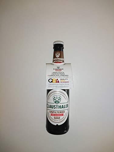 24 bottiglie Birra analcolica Clausthaler non filtrata