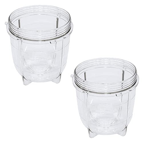 wivarra Replacement Parts Cups,Compatible for Magic Blender Juicer 250W MB1001