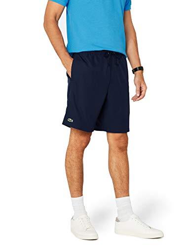 Lacoste Herren Sport Shorts, Blau (NAVY BLUE 166), XL (Herstellergröße: 6)