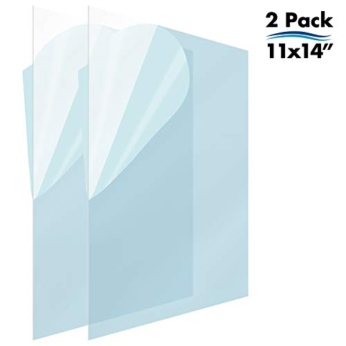 Mejor Handicrafts Home 2.0 mm Ultra-Transparent Acrylic Plexiglass Photo Size Sheet Picture Frame Replacement Glass 5x7 Inches Pack of 2 Pcs. crítica 2020