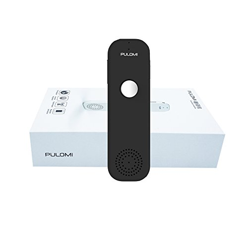Pulomi Easy Trans Smart Language Translator Device Electronic Pocket Voice Bluetooth 52 Languages for Learning Travel Shopping Business Fit for Apple iPhone Android Black Photo #3