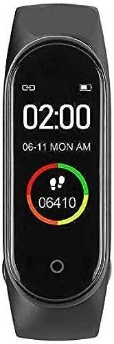 Esportic M4 Band Intelligence Bluetooth Health Wrist Smart Band Watch Monitor Smart Bracelet Health Bracelet Smart Watch For Mens Activity Tracker Fitness Tracker