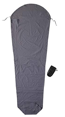 Cocoon Cotton MummyLiner - Farbe: elephant grey