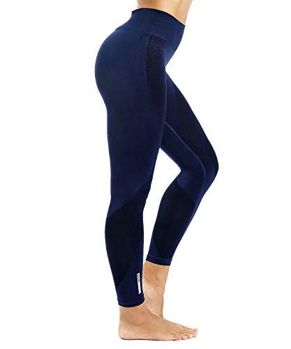 LaLaAreal Pantalones De Entrenamiento Para Mujer Leggings De Yoga Control De Abdomen De Cintura Alta Elástico Para Correr Pilates Fitness