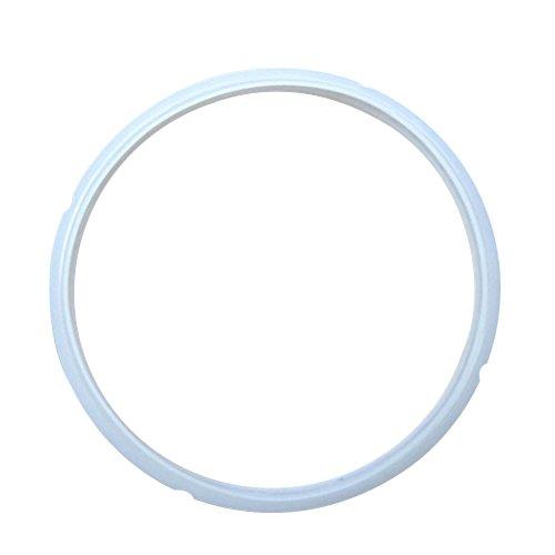 BESTONZON Anillo de Sellado de Silicona para Olla a presión eléctrica MIDEA de 5 l y 6 l (Estilo Antiguo)
