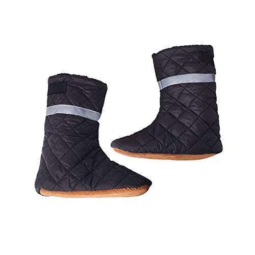 F Fityle Warme Indoor-Daunen-Pantoffeln Anti-Rutsch-Isolier Stiefel Heim Winters chuhe Gemütliche Schuhe für Frauen - 41 bis 45