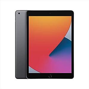 最新 Apple iPad (10.2インチ, Wi-Fi, 128GB) - スペースグレイ (第8世代)