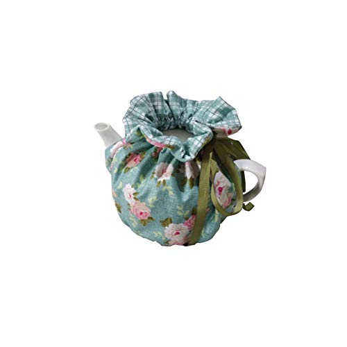 Cheng Yi Modern Design Printed Tea Cosy,Creative Kitchen Tea Pot Dust Cover,Tea Cosy Breakfast Warmer,Kettle Cover,Insulation and Keep Warm,CYFC1382 (Green)