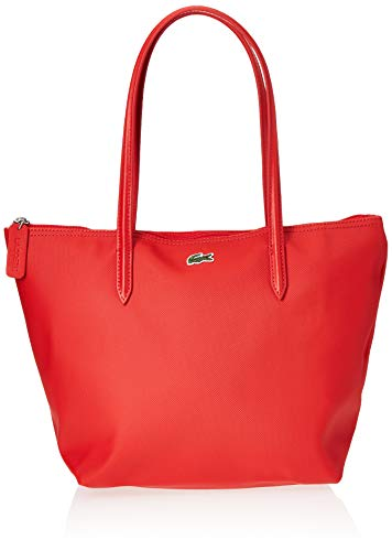 Lacoste NF2037, Bolso Bandolera para Mujer, RED DE ALTO RIESGO (High Risk Red), Talla única