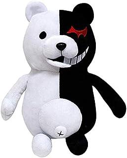 "Xiumui 14"" Danganronpa Monokuma Monomi Plush Doll Black and White Bear Anime Plush Toy"