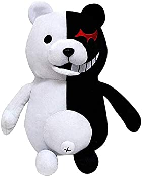Xiumui 14  Danganronpa Monokuma Monomi Plush Doll Black and White Bear Anime Plush Toy