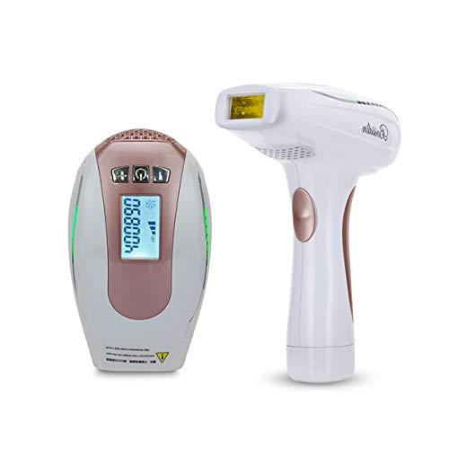Dispositivos IPL Depilación láser Uso en el hogar Depiladora IPL 40 0,000 pulsos de luz para hombres y mujeres Dispositivo de depilación permanente para cuerpo, cara, zona de bikini, área íntima