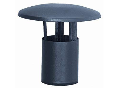 Vda. De Gabriel Mari MontañAna 96022 - Sombrerete tubo estufa pellet 080mm macho a/esm gr practic