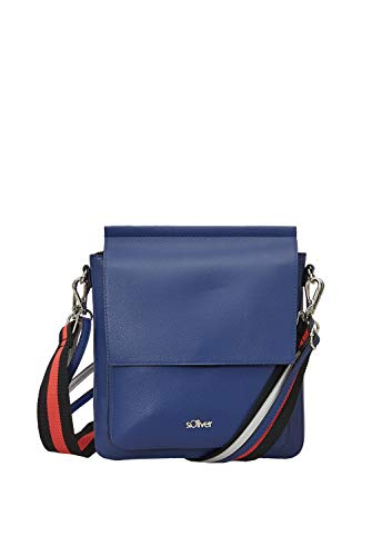 s.Oliver (Bags Damen Shoulder Bag Schultertasche Blau (Cornflower)