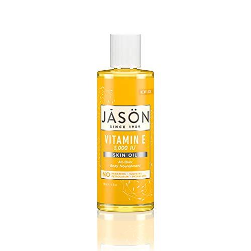 Jason Skin Oil, Vitamin E 5,000 IU, All Over Body Nourishment, 4 Oz...