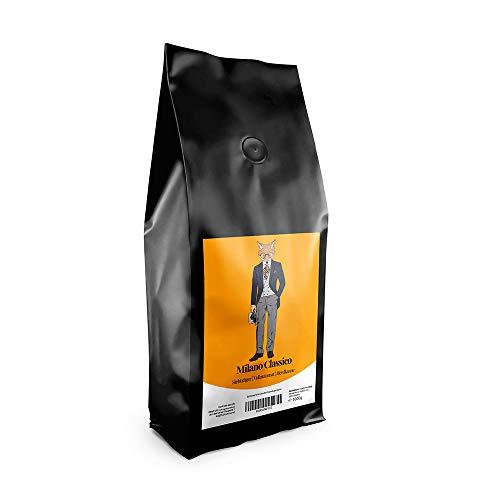 Escuro Espresso Milano | Espresso Kaffeebohnen Italienische Röstung | Schonend geröstet in Deutschland, säurearm | Perfekt für Vollautomat, Espressomaschine und Siebträger | (1000 GR)